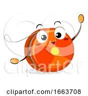 Mascot Yoyo Illustration