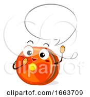 Mascot Yoyo Speech Bubble Illustration
