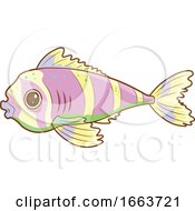 Cute Striped Fish