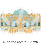 Poster, Art Print Of Blue And Gold Palace Exterior