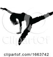 08/22/2019 - Street Dance Dancer Silhouette