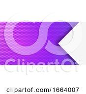 Halftone Dots Banner Design