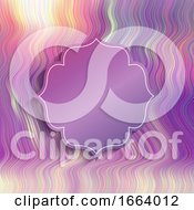 Poster, Art Print Of Abstract Background With Decorative Frame