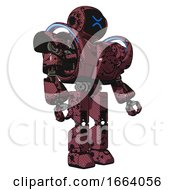 Android Containing Digital Display Head And Wince Symbol Expression And Heavy Upper Chest And Heavy Mech Chest And Battle Mech Chest And Prototype Exoplate Legs Muavewood Halftone Grunge