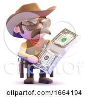 3d Cowboy Has Plenty Of Dollars