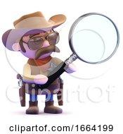 3d Cowboy Magnifier