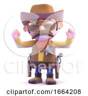 3d Cowboy Surrenders