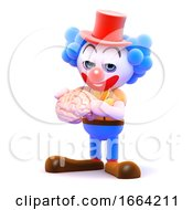 3d Clown Brain