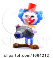 3d Clown Photographer