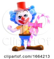 3d Clown Candy