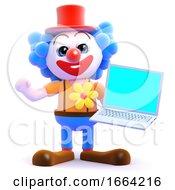 3d Clown Computes
