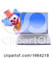 3d Clown Lapot