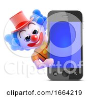 3d Clown Smartphone