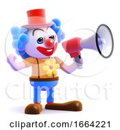 3d Loud Clown