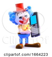 3d Clown Mobile