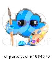 Poster, Art Print Of 3d Cloud Is An Artist