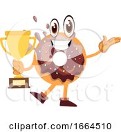 Donut With Trophy