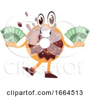 Donut With Money