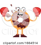 Donut With Boxing Gloves