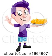 Boy With Mangoes