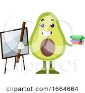 Avocado With Books