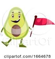 Avocado Holding Flag