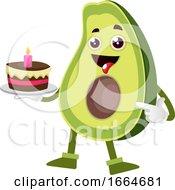 Avocado Holding Cake