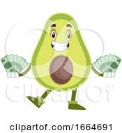 Avocado With Money