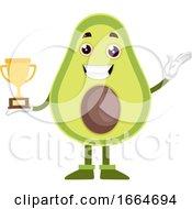 Avocado Holding Trophy