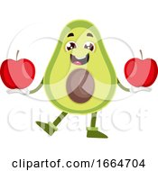 Avocado With Apples