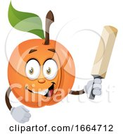 Apricot With Bat