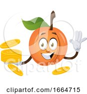 Apricot With Coins