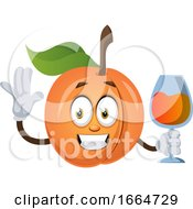 Apricot With Drink