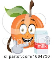 Apricot With Milk
