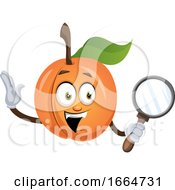 Apricot With Magnifier Tool by Morphart Creations