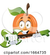 Apricot Playing Guitar