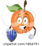 Apricot With Shield