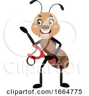Ant With Sling Shot