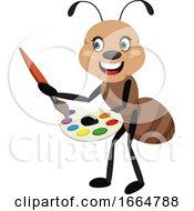 Ant Holding Color Palette