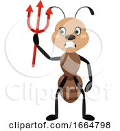 Ant With Devil Spike