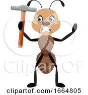 Ant With Hammer