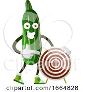 Cucumber With Target