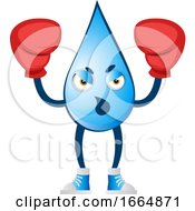 Water Drop With Boxing Gloves