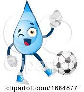 Water Drop With Football