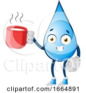 Water Drop With Tea by Morphart Creations