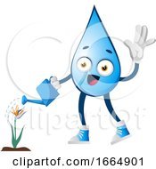 Water Drop Watering Plant by Morphart Creations