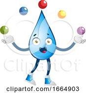 Water Drop Juggling by Morphart Creations