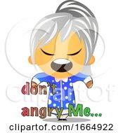 Poster, Art Print Of Grandma Is Angry