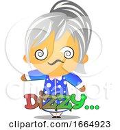 Poster, Art Print Of Grandma Feeling Dizzy