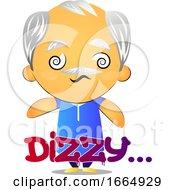 Poster, Art Print Of Old Man Feeling Dizzy